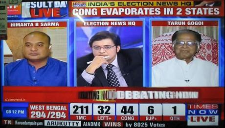 the Nation wants to know ~ a great show featuring Tarun Gogoi and Himanta Sarma + Arnab on Times Now