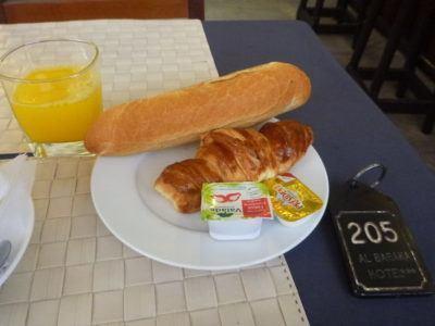 Breakfast at Hotel Baraka