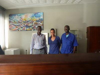 Smiling staff at Hotel Baraka