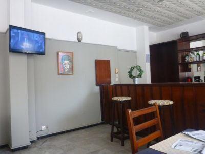 Downstairs bar at Hotel Baraka