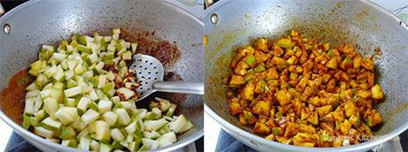 preparation-of-instant-mango-pickle