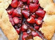 Chocolate Strawberry Galette (Gluten Free Paleo)