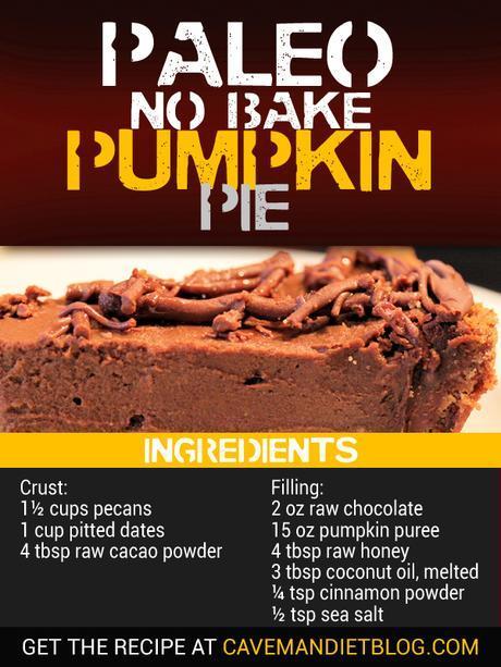 Paleo Dessert Recipes Pumpkin Pie ingredient Image