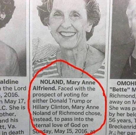 Noland obituary
