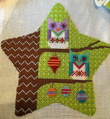 Stitch a Falling Star Update-- So Many Owls!