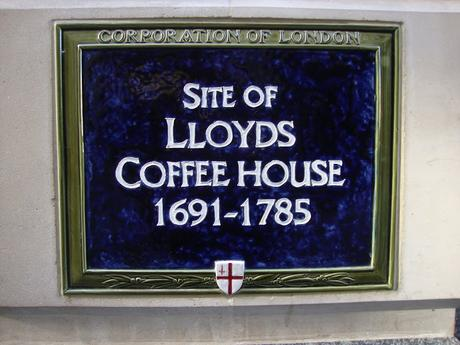 #plaque366 Lloyd's Coffee House