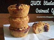 Quick Blueberry Oatmeal Cups