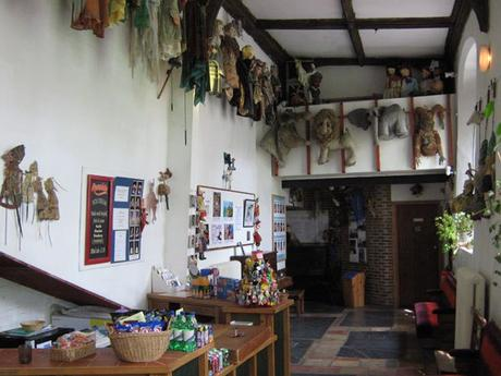Norwich puppet theater Interior