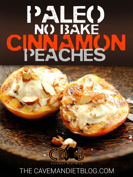 paleo dessert recipes cinnamon peaches main image