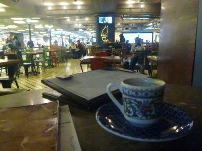 Bored in Istanbul Airport - coffee time