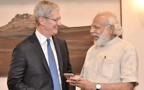 IPL - apple Tim Cook in India - who will move to next round in IPL !!