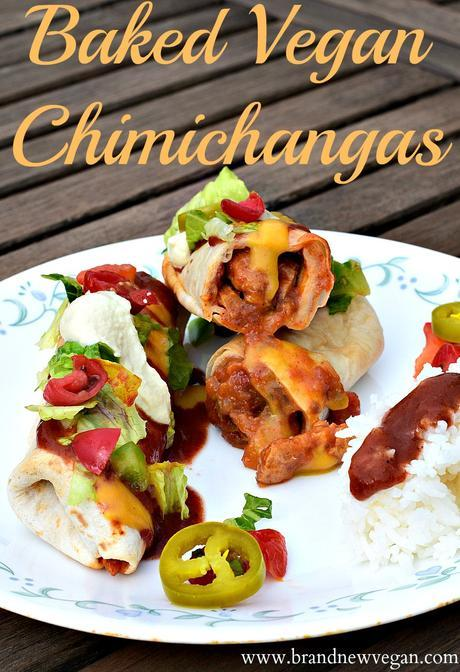 baked chimichangas pin