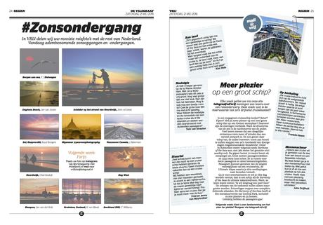 De Telegraaf: it is Vrij! a new weekend supplement