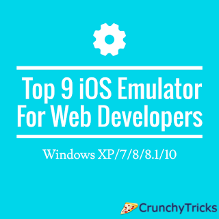 Top 9 iOS Emulator for Web Developers - Windows XP/7/8/8.1/10