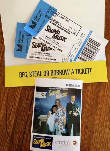 Tickets to the Sound of Music