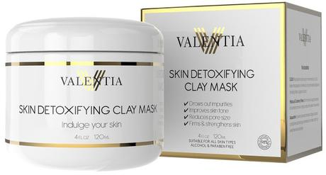 Face the Summer with Valentia's Skin Detoxifying Clay Mask