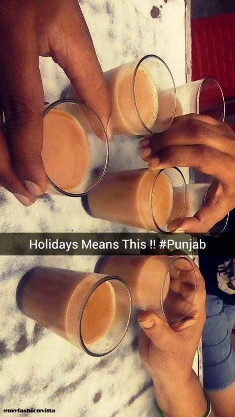 Chai at Dhaba