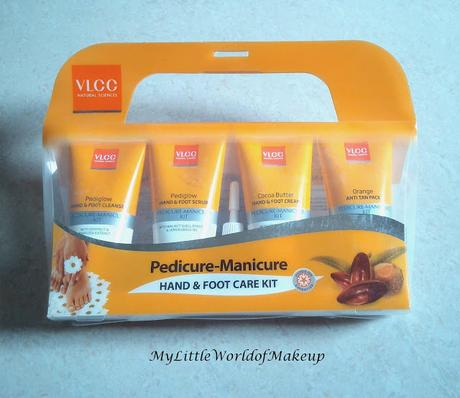 VLCC Pedicure - Manicure Hand & Foot Care Kit Review & how to use!
