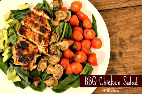 BBQ Chicken Salad | Healthy BBQ Sauce | BBQ Chicken Recipes | True Made Foods | Allergy Friendly Sauce