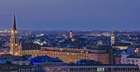 Its Novi Sad – A city in Serbia on the banks of the Danube River.
