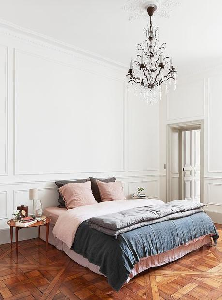 Beautiful bedrooms in shades of gray
