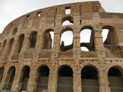 ROME'S ANCIENT COLOSSEUM, Guest Post by Tom Scheaffer