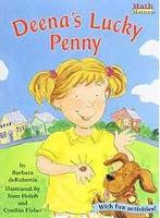 Image: Deena's Lucky Penny (Math Matters Series) (Math Matters (Kane Press Paperback)), by  Barbara Derubertis, Cynthia Fisher. Publisher: Kane Press (January 1, 1999)