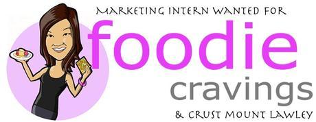 CALL OUT marketing intern for foodie cravings & my crust