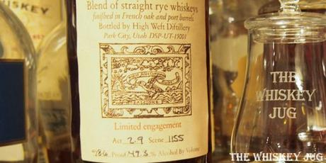 High West A Midwinter Night's Dram Label