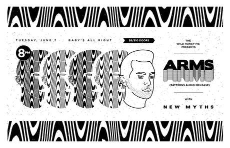 The Wild Honey Pie Presents ARMS Album Release Show with New Myths