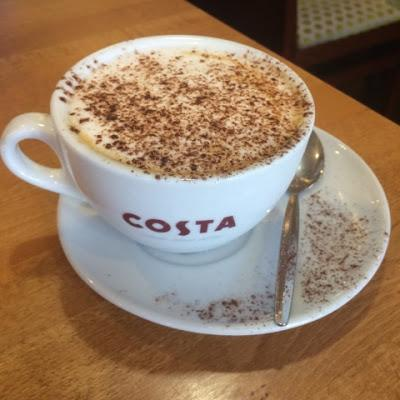 Today's Review: Costa Popcorn Cappuccino