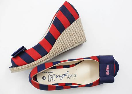 Fan Faring Footwear: Lillybee Personalized & Collegiate Shoes
