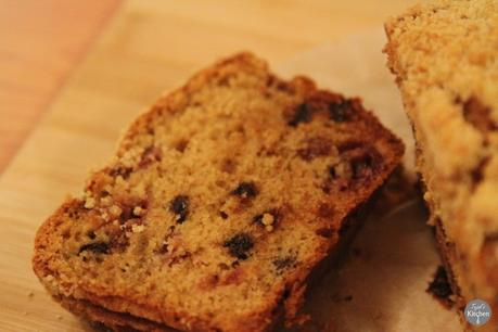 Crumble Top Cherry & Chocolate Loaf