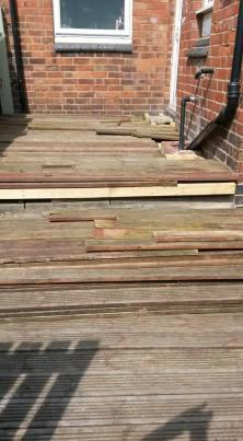 Rough decking