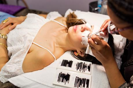 Lash Extensions at The Lash Lounge Alliance