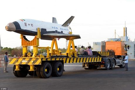 770 seconds of glory ~ Indian seven metre (23-foot) scale model space shuttle makes maiden return !