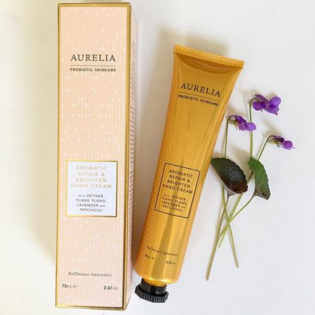 Review: Aurelia Aromatic Repair & Brighten Hand Cream 75ml