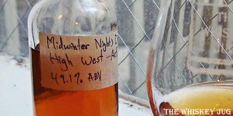 High West MidWinter Night's Dram Act 3 Label