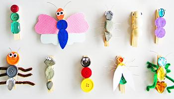 Enjoy This Easy and Adorable Insect Craft for Kids!