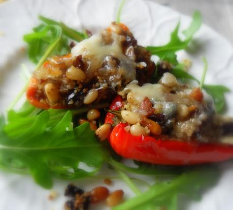 Stuffed Baby Sweet Bell Peppers
