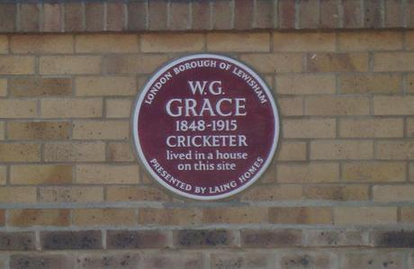 #plaque366 W.G Grace