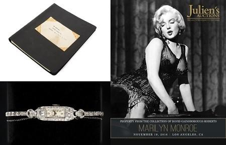 Marilyn Monroe Items from the Estate of Lee Strasberg to be auctioned