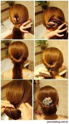 Stupendous 6 Super Easy Bun Hairstyle For Summers For Everyones Hair Paperblog Short Hairstyles Gunalazisus