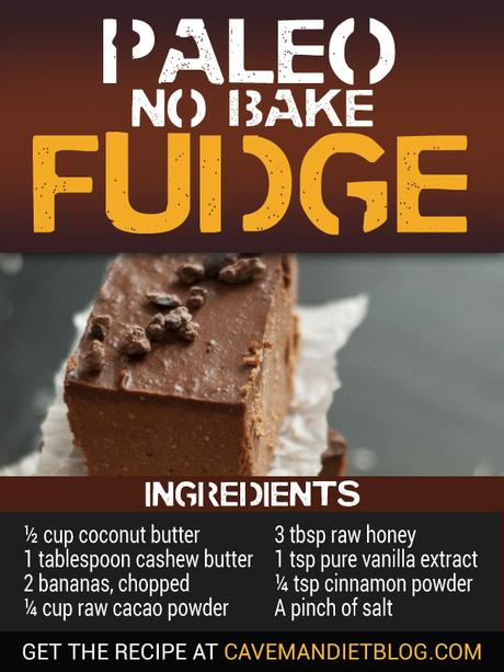 paleo dessert recipes fudge ingredient image