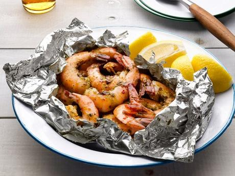 Super Easy Grilled Shrimp
