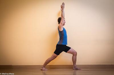 Featured Pose: Warrior 1 (Virbradrasana 1)