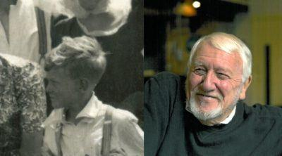 Ron Hands in 1939 and in 2016