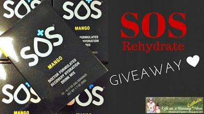 I'm giving away SOS! Yes, SOS Rehydrate!