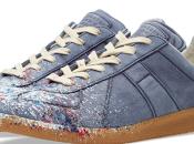 Blue's Low: Maison Martin Margiela Paint Splash Replica Sneaker