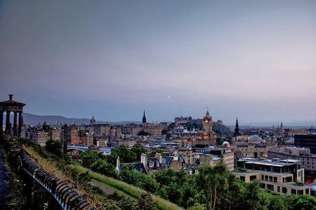Hello Freckles City Break UK Edinburgh Summer